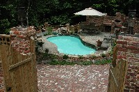 Cocoa Beach Fiberglass Pool in Howard, GA